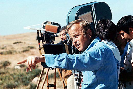 Franco Zeffirelli bei Dreharbeiten