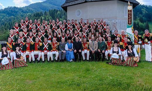 Das besondere Fest der Fahnensegnung feiern die Metnitzer Schützen zwei Tage lang