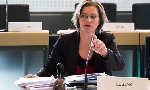 Barbara Lesjak leitete den U-Ausschuss in der Causa Seenkauf