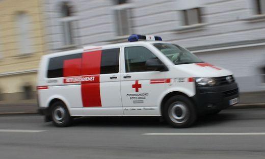 Der Verletzte wurde in die Innsbrucker Klinik eingeliefert