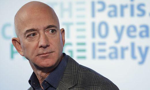 Jeff Bezos verkaufte Amazon-Aktien im Wert von drei Millionen Dollar