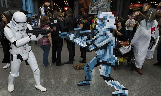"""Auf der Comic-Con trafen sich viele alte und neue """"Bekannte"""""""