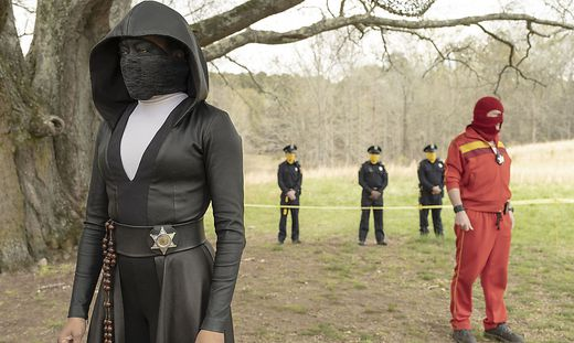 """Regina King in """"The Watchmen"""""""