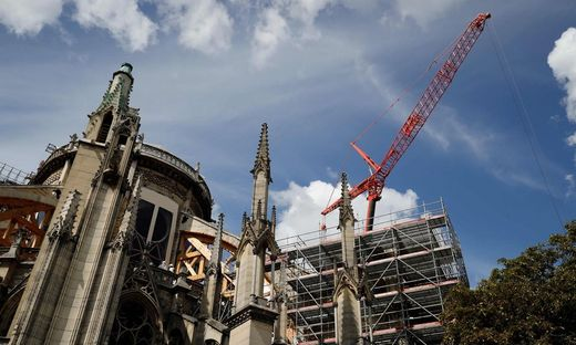 FRANCE-NOTRE DAME-HERITAGE-RELIGION-HEALTH-ENVIRONMENT