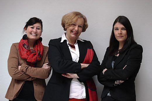 Museumsteam: Nina Zmugg, Anja Weisi Michelitsch und Katrin Knaß