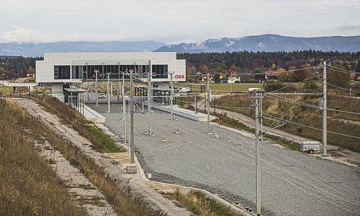 Bahnhof Kuehnsdorf ALT und NEU November 2020