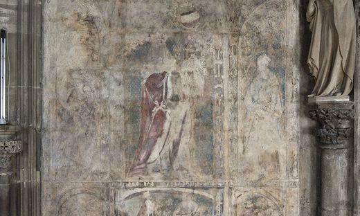 Mögliche Wandzeichnung von Albrecht Dürer im Stephansdom entdeckt