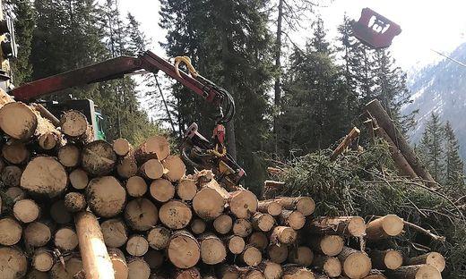 In Großkirchheim wurden bei einem Unfall zwei Forstarbeiter aus Rumänien (29 und 21) getötet