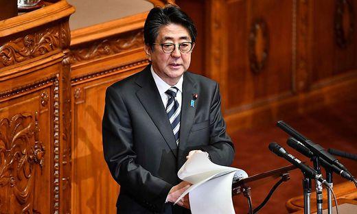 Shinzo Abe will an den Spielen festhalten