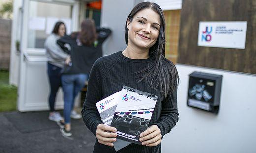 Tatjana Greller, Leiterin der Juno, versucht mit ihren Kollegen, eine familiäre Atmosphäre zu schaffen