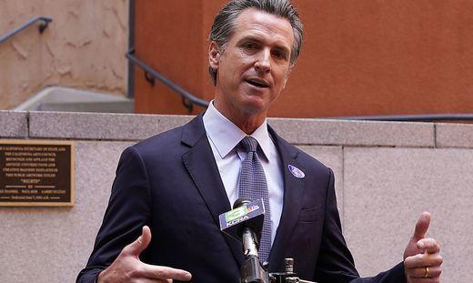 Ist und bleibt Kaliforniens Gouverneur: Gavin Newsom