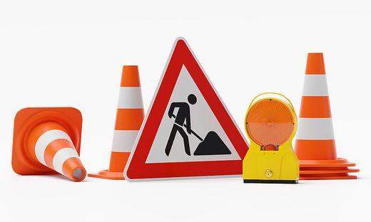 Baustelle ab Montag auf der B317