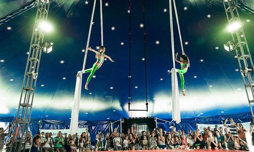 2für1-Ermäßigung für das Zirkuscamp!