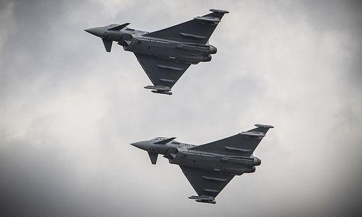 Zwei Eurofighter des Bundesheeres