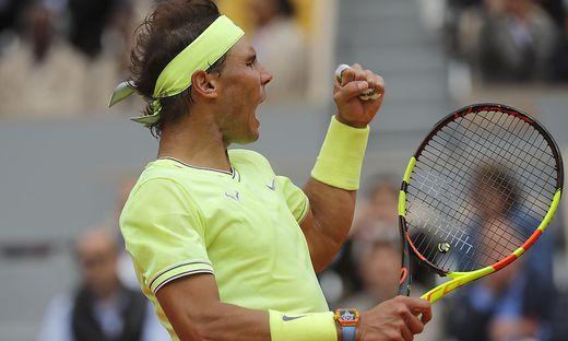 Rafael Nadal buchte in Paris das Finalticket