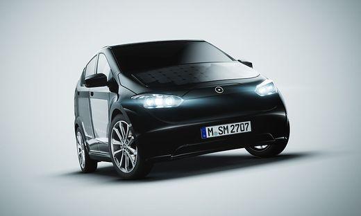 MODELLVORSTELLUNG: Das Elektroauto Sion bringt 250 Kilometer ...