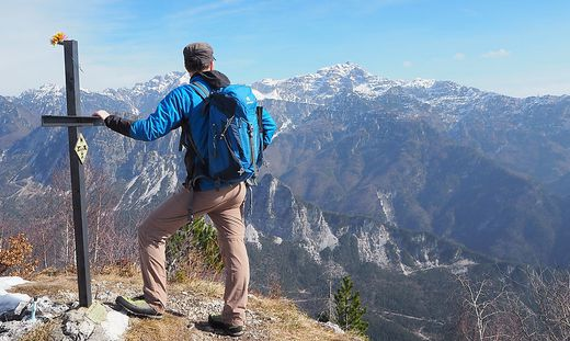 Ziel erreicht: Auf dem Gipfel des Monticello