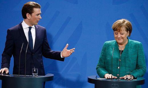 GERMANY-AUSTRIA-POLITICS-DIPLOMACY