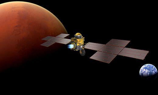 Der Start Earth Return Orbiter ist für 2026 geplant