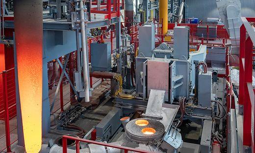 Ein komplettes Stahlwerk im Kleinformat wurde am Mittwoch in Leoben-Donawitz eröffnet