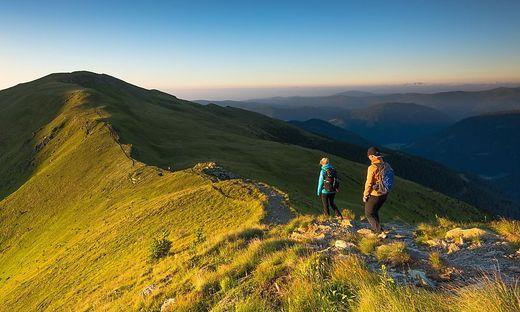 Der Nockberge-Trail besteht aus insgesamt fünf Etappen