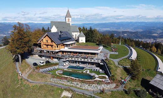 Das Gipfelhaus auf dem Magdalensberg bekam nicht nur eine neue Fassade, sondern auch 20 Gästezimmer dazu
