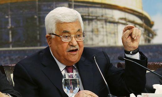 Antisemitische RedeAbbas: Juden sind Schuld am Holocaust