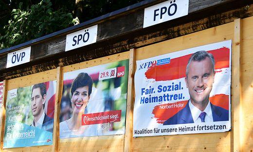Wahlkampffinale : Nationalratswahl: Ausgangslage, Ziele, Chancen der Parteien