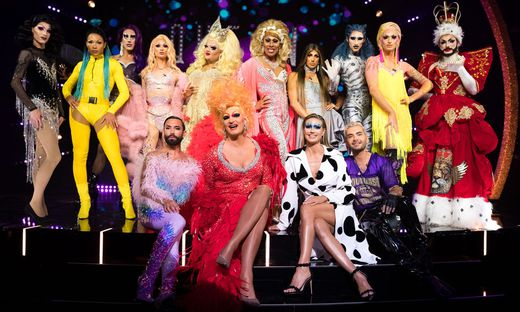 "Heidi Klum, Conchita und Co. suchen die ""Queen of Drags""."