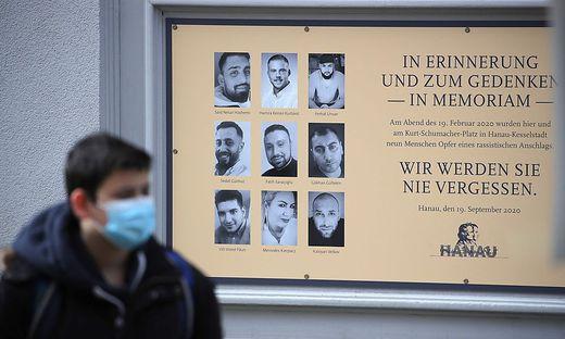 Erinnerung an die Opfer von Hanau