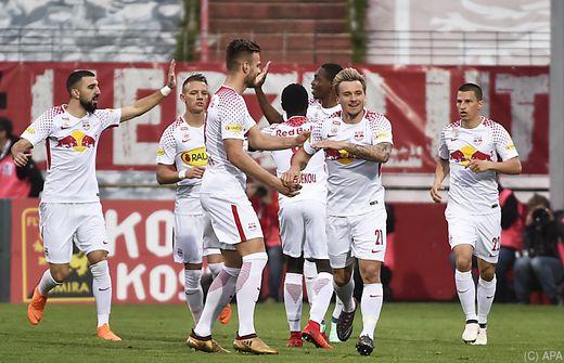 Salzburg reist für Cup bei Mattersburg mit Flieger an