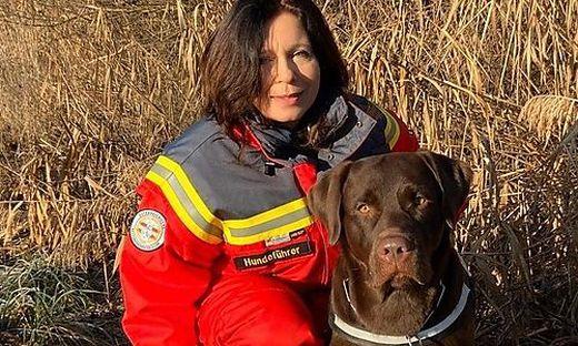 Manuela Rutter hilft seit rund zwei Jahren bei der Suche nach abgängigen Personen