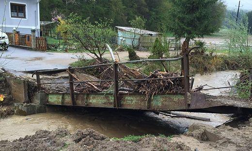 Unwetterschäden in Gamlitz
