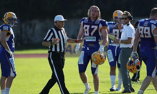 AMERICAN FOOTBALL - AFL, Giants vs Vikings