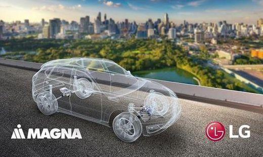 Magna und LG machen gemeinsame Sache