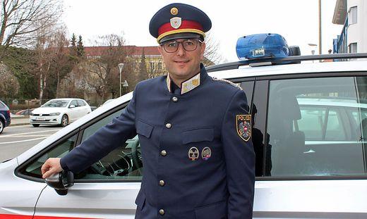Franz Glanzer, PI Kommandant in Straszburg