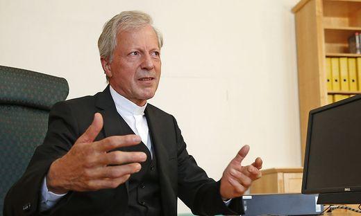 Am 2. Juli beginnt für Engelbert Guggenberger das zweite Jahr als Diözesanadministrator