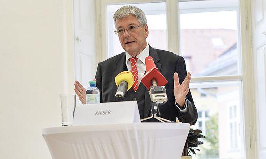 LH Kaiser nahm in einer Pressekonferenz zu den strengen Maßnahmen Stellung