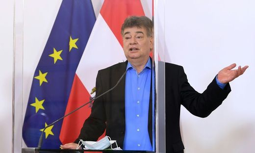 Vizekanzler und Sportminister Werner Kogler