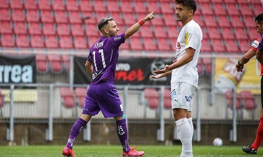 Aydin schoss die Austria zum 2:0-Sieg