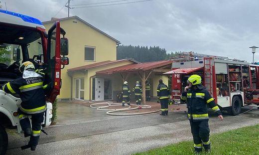 Auch die FF Feistritz ob Bleiburg stand im Einsatz