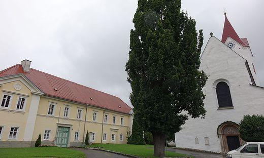 Der Pfarrhof in Pöls-Oberkurzheim