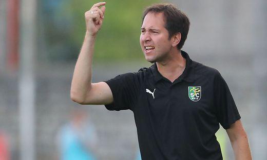 Weiz-Trainer Georg Kaufmann