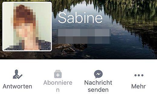 Facebook-Freundin-Handynummer