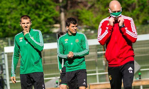 SOCCER - BL, Training SK Rapid Wien