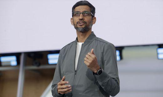Google-Boss Sundar Pichai