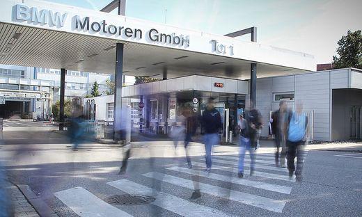 Das BMW-Motorenwerk in Steyr