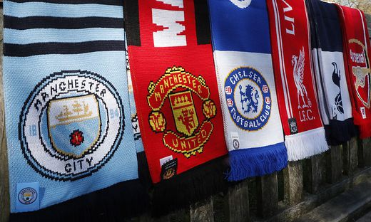 Die englischen Klubs aus Manchester, Liverpool und London wollen in der Super League spielen