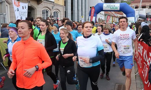 2552 Läufer sind an den Start gegangen