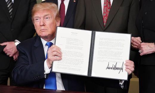 Ein Teil der von Donald Trump eingesetzten Strafzölle soll reduziert werden
